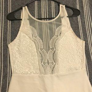 Little white dress from LuLu's